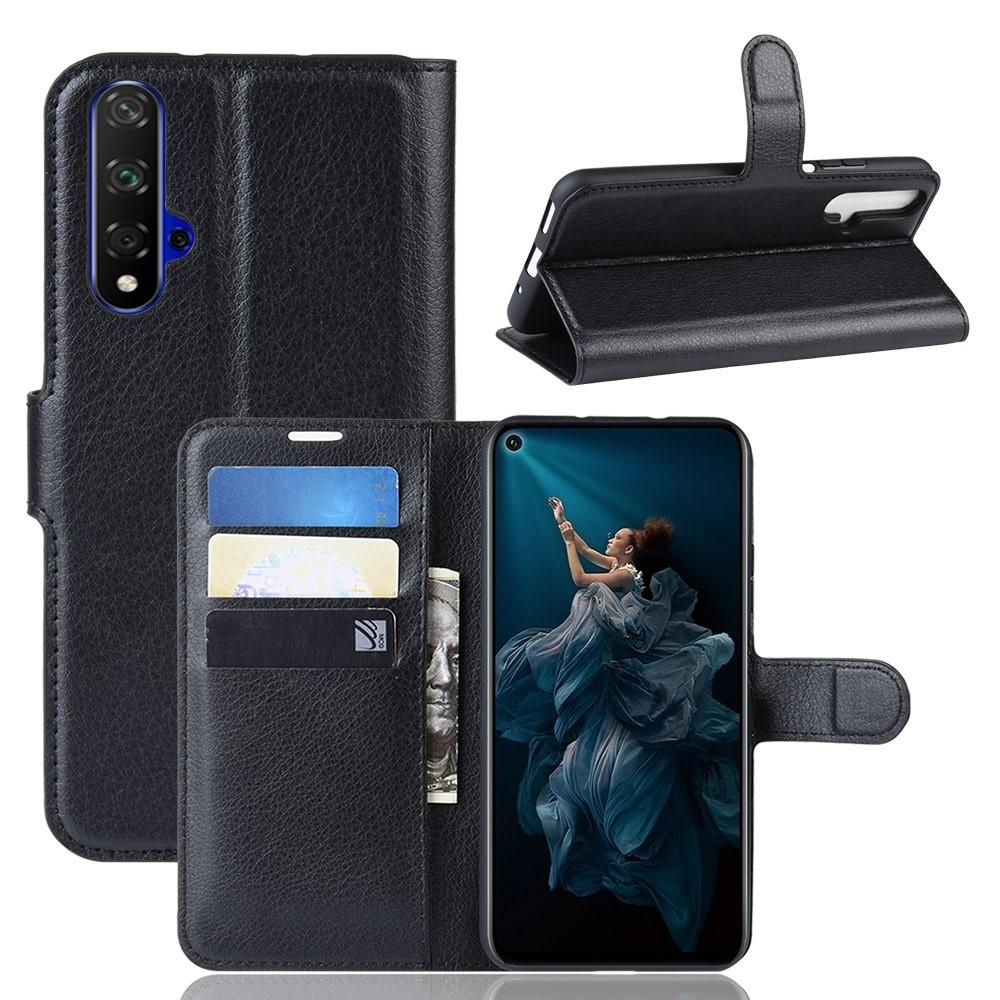 Suojakotelo Huawei Nova 5T/Honor 20 musta