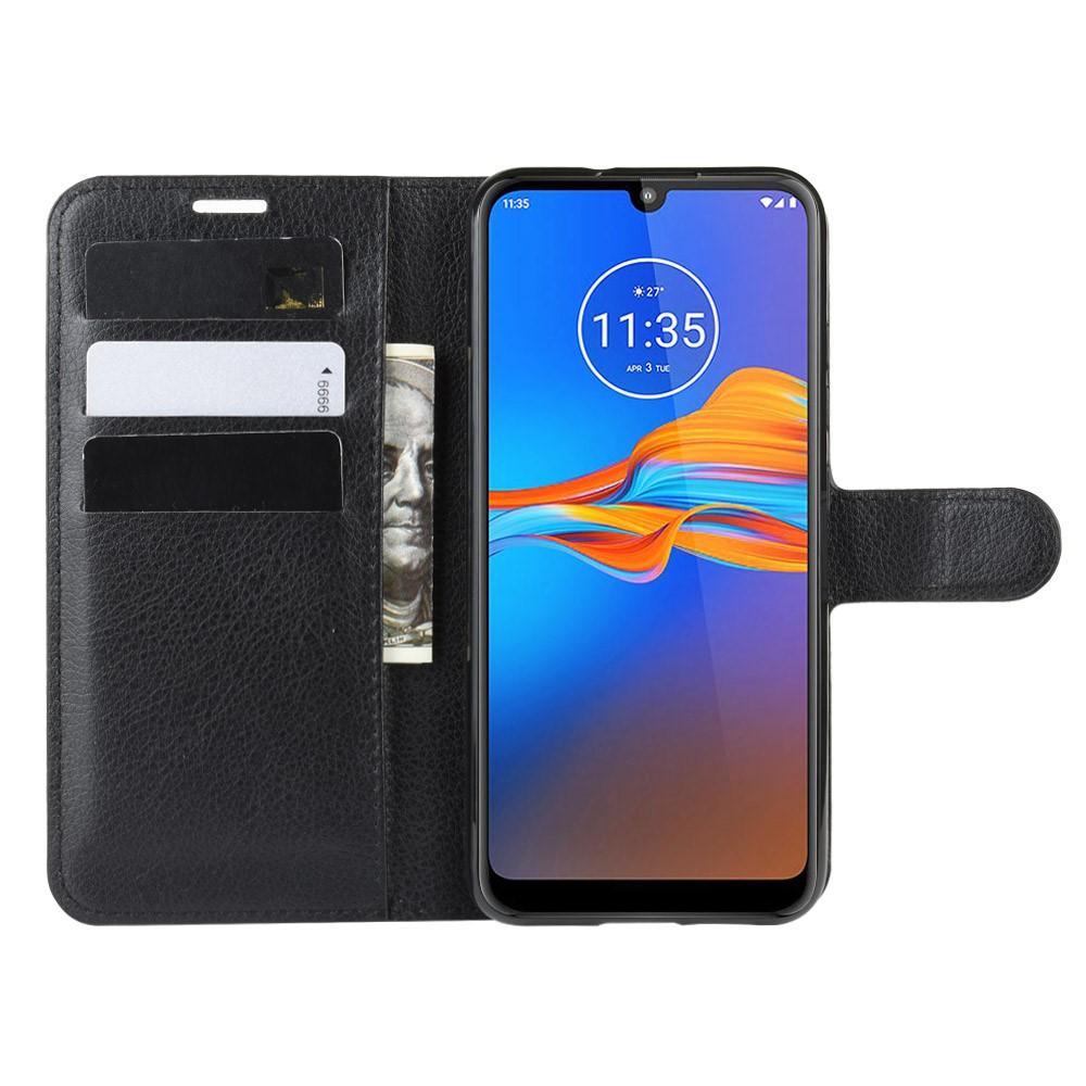 Suojakotelo Motorola Moto E6 Plus musta