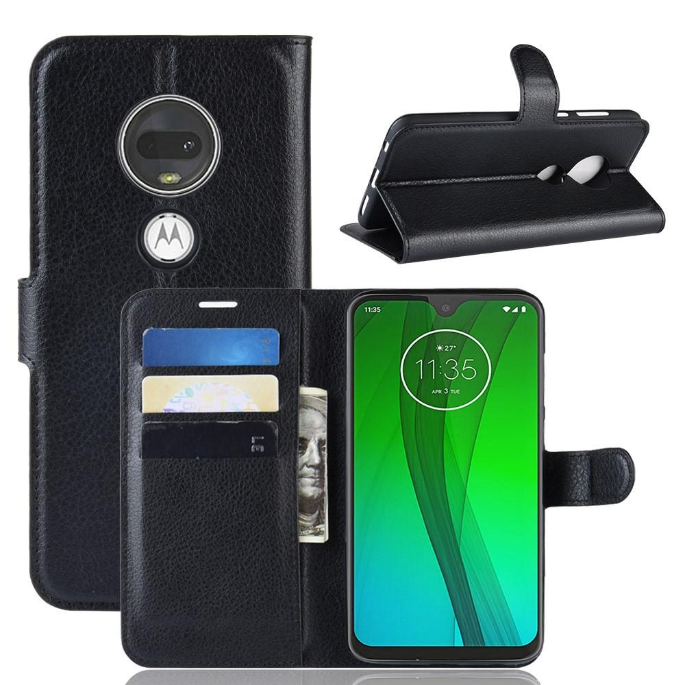 Suojakotelo Motorola Moto G7/G7 Plus musta