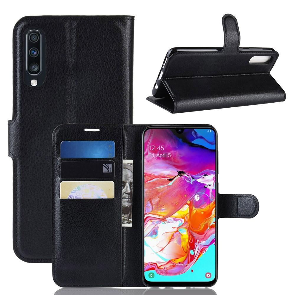 Suojakotelo Samsung Galaxy A70 musta