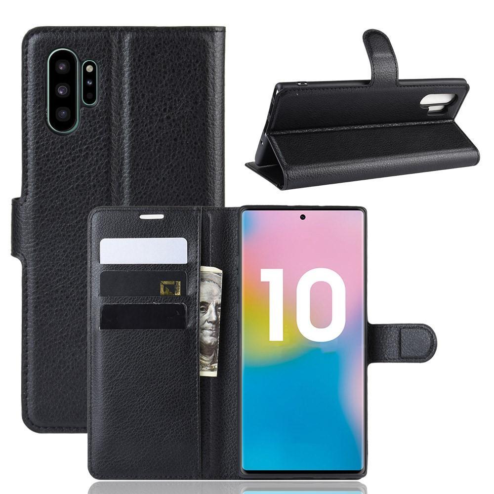 Suojakotelo Samsung Galaxy Note 10 Plus musta
