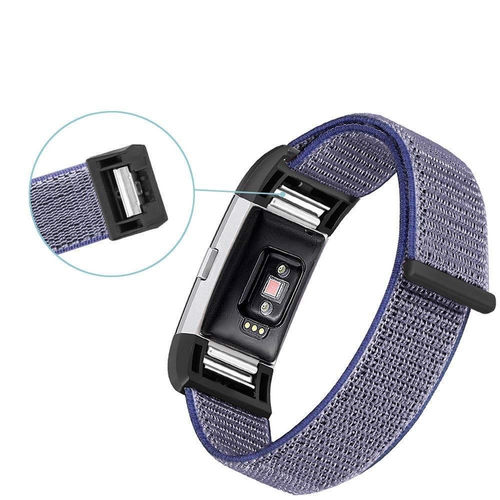 Nailonranneke Fitbit Charge 3/4 sininen