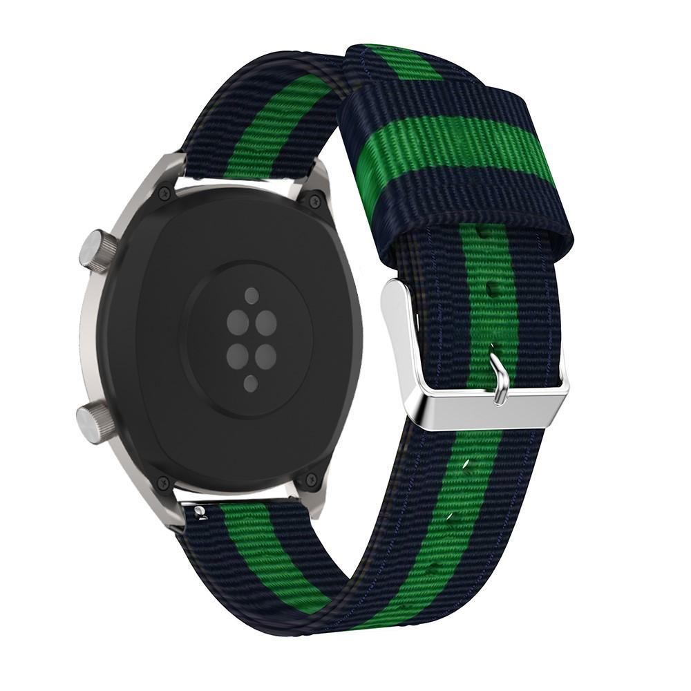 Nailonranneke Huawei Watch GT/GT 2 46mm/GT 2e sininen/vihreä
