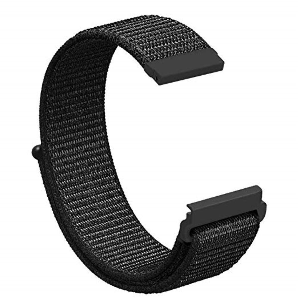 Nailonranneke Huawei Watch GT/GT 2 46mm/GT 2 Pro musta