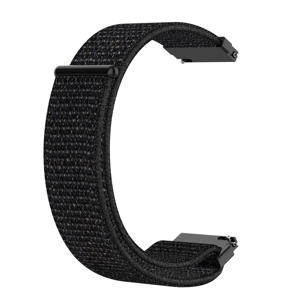 Nailonranneke Samsung Galaxy Watch 42mm/Active musta