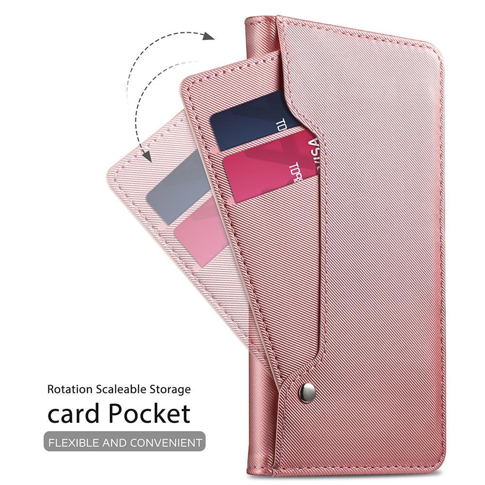 Suojakotelo Peili Apple iPhone XR Vaaleanpunainen