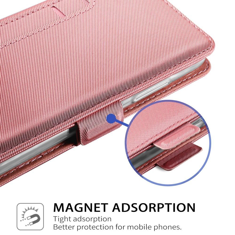 Suojakotelo Peili Apple iPhone X/XS Vaaleanpunainen