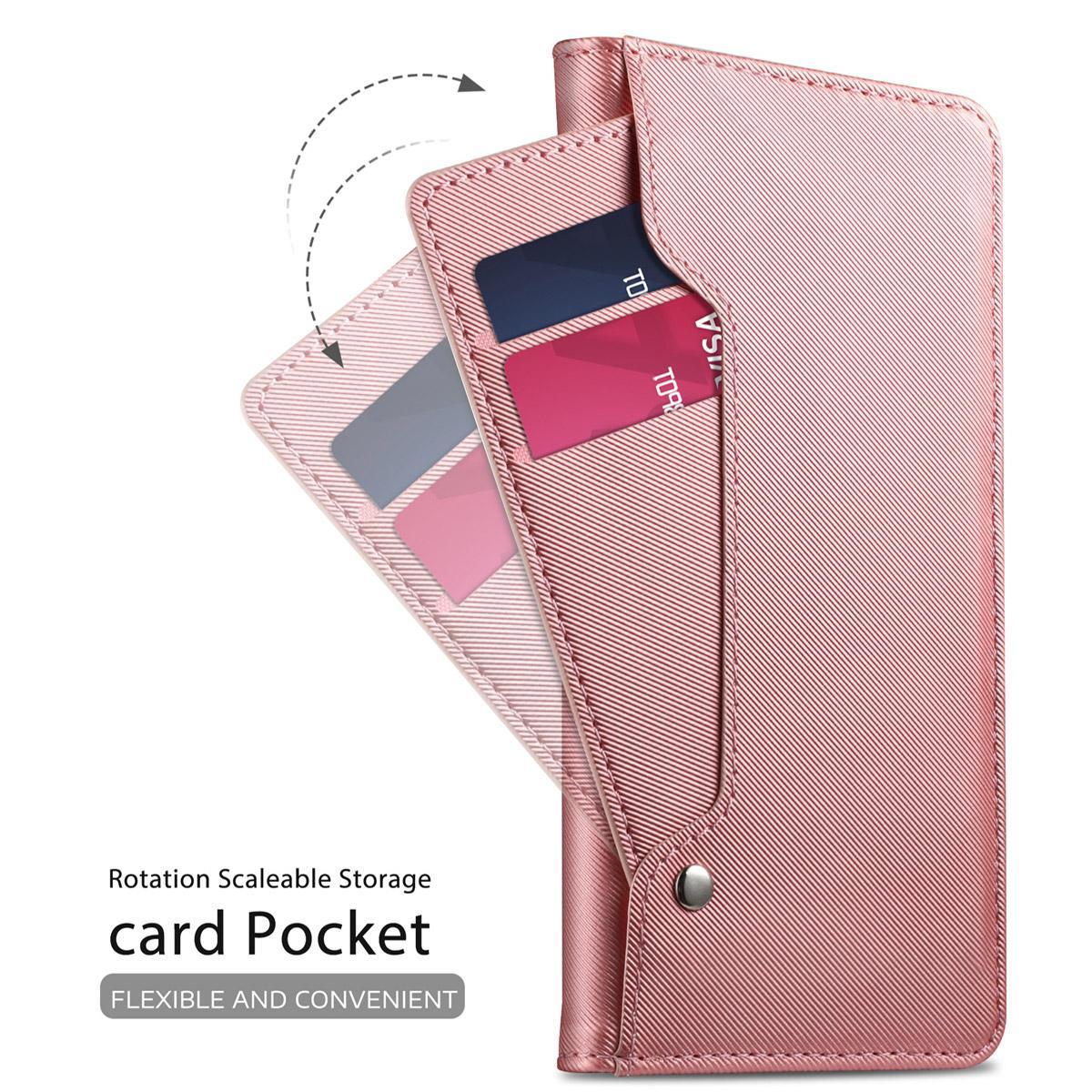 Suojakotelo Peili Galaxy A40 Vaaleanpunainen