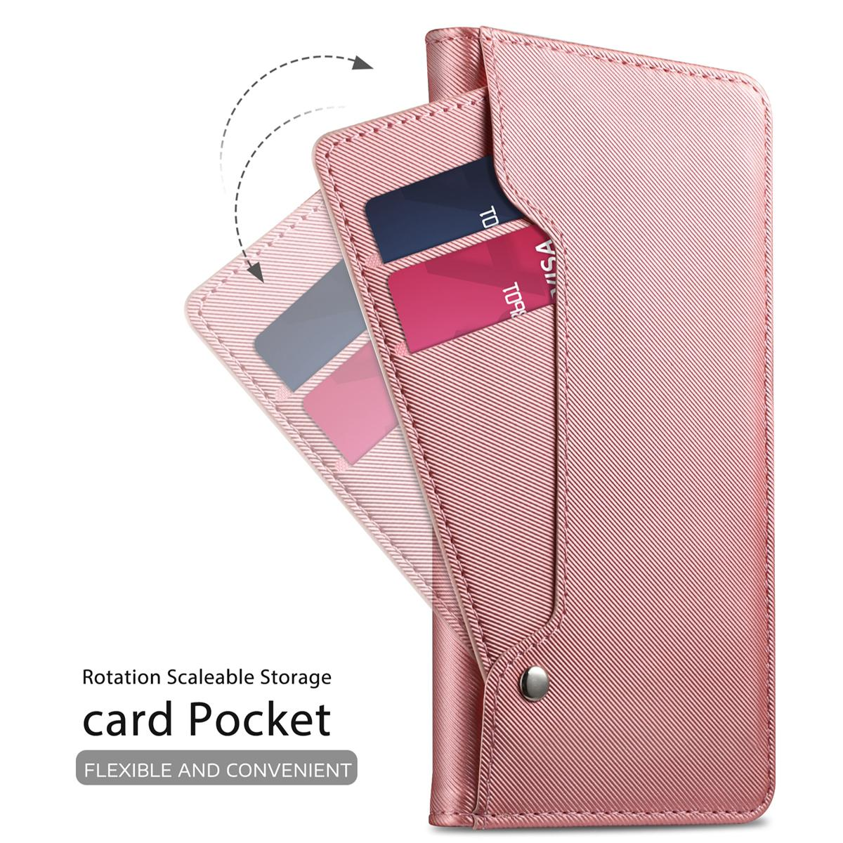 Suojakotelo Peili Galaxy S9 Vaaleanpunainen
