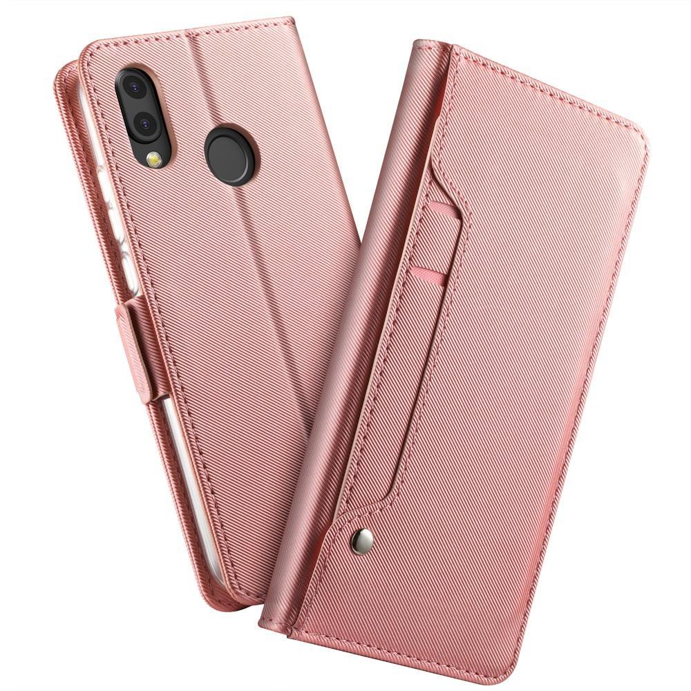 Suojakotelo Peili Huawei P20 Lite Vaaleanpunainen