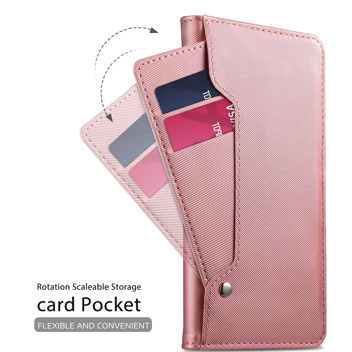 Suojakotelo Peili Huawei P30 Vaaleanpunainen