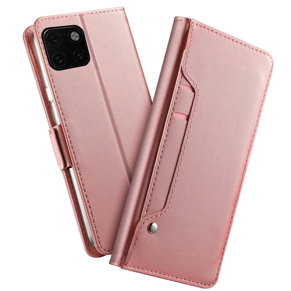 Suojakotelo Peili iPhone 11 Vaaleanpunainen
