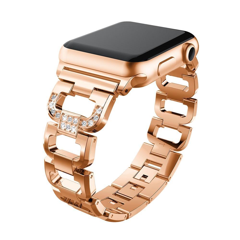 Rhinestone Bracelet Apple Watch 42/44/45 mm Rose Gold
