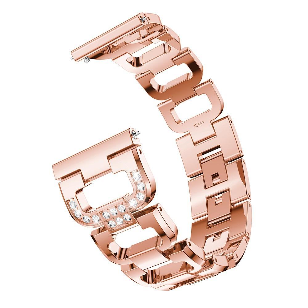 Rhinestone Bracelet Galaxy Watch 42mm/Watch Active Rose Gold