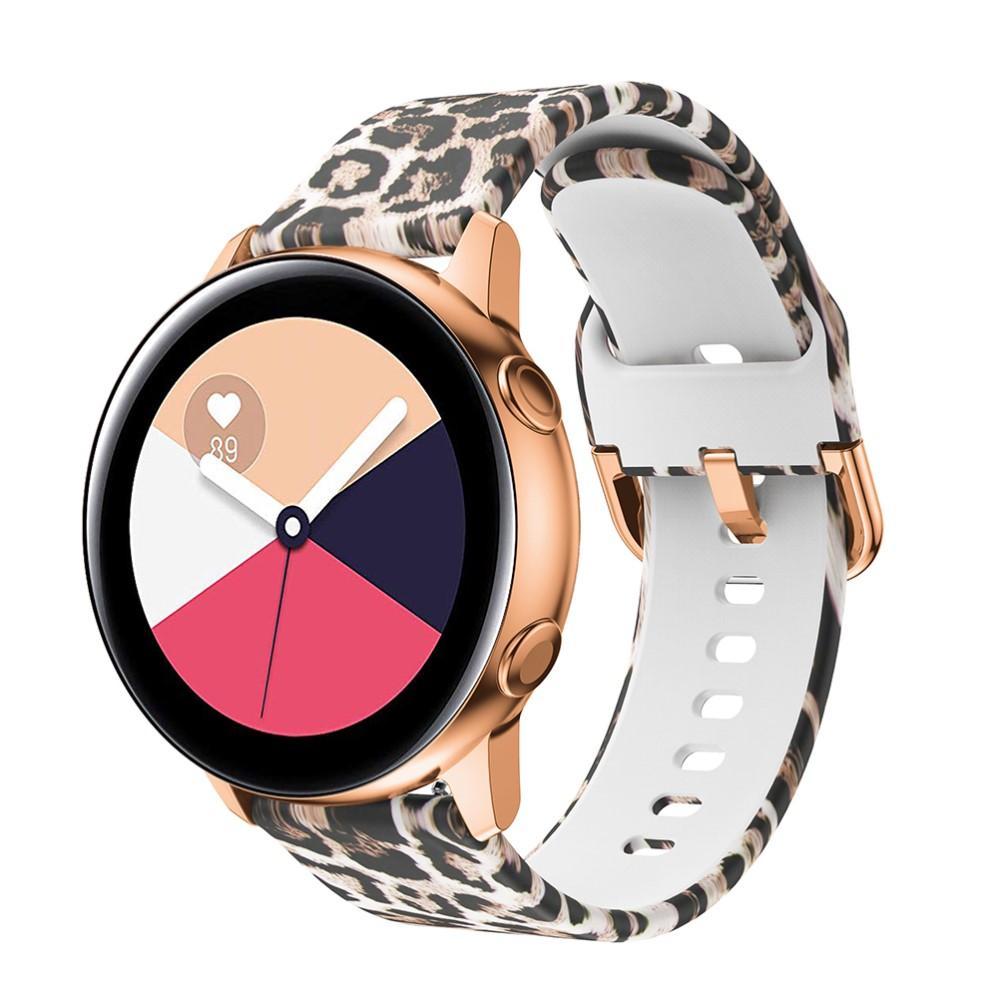 Silikoniranneke Galaxy Watch 42mm/Active leopardi