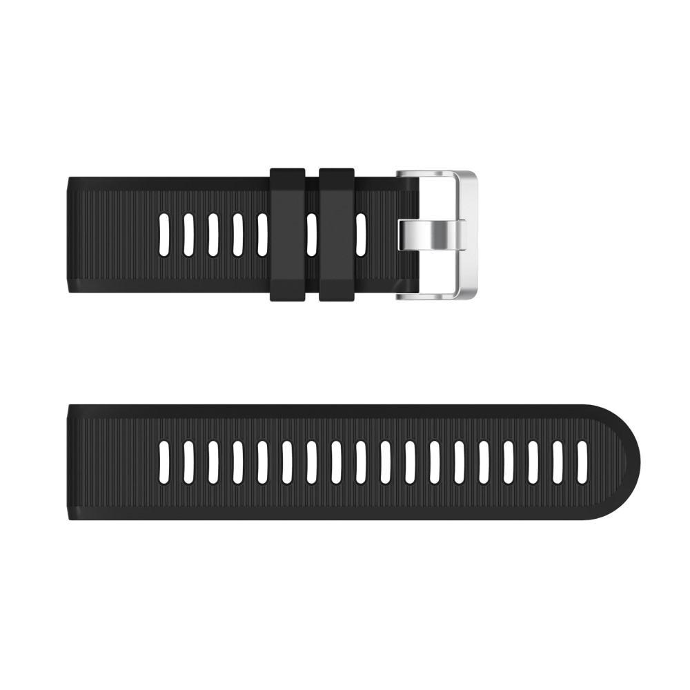 Silikoniranneke Garmin Fenix 6X/6X Pro musta