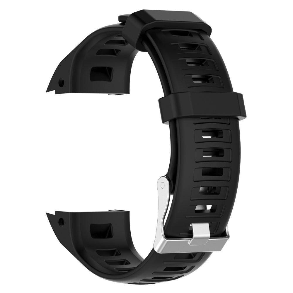 Silikoniranneke Garmin Instinct musta