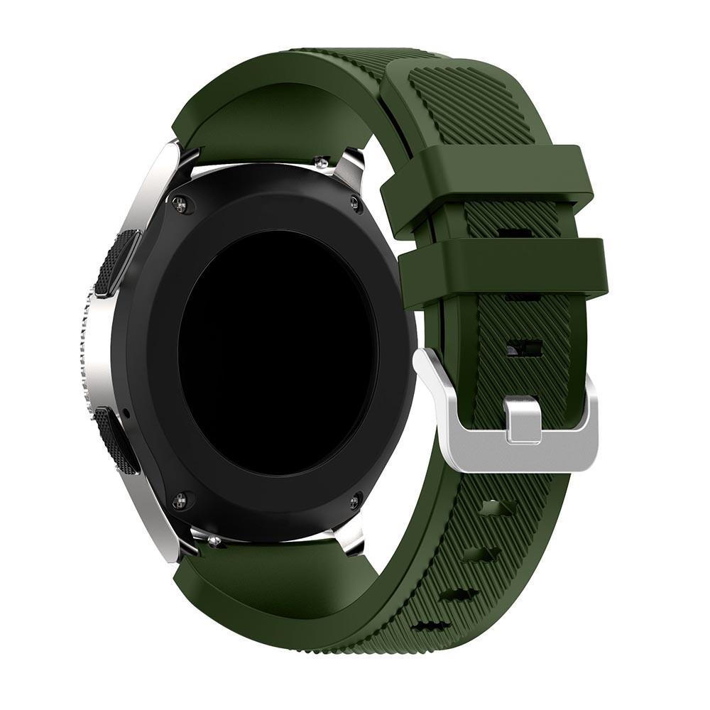 Silikoniranneke Samsung Galaxy Watch 46mm vihreä