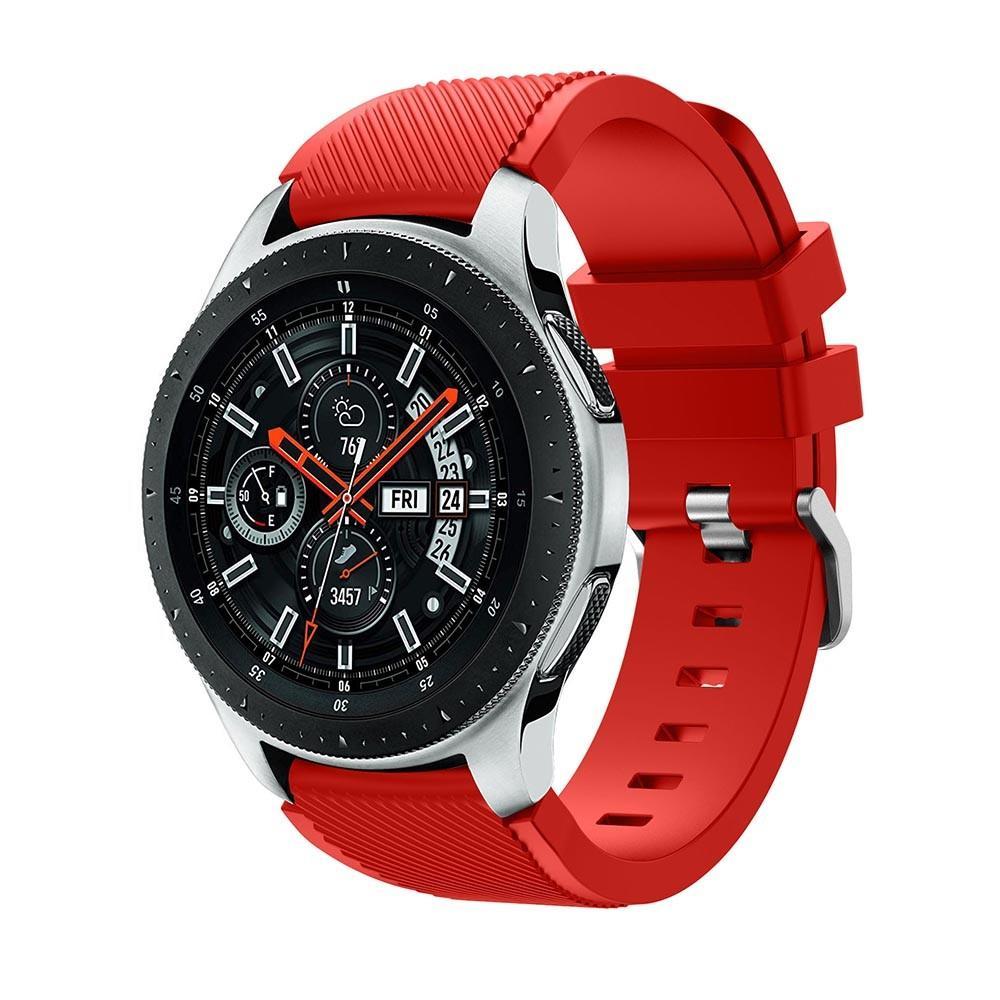 Silikoniranneke Samsung Galaxy Watch 46mm punainen