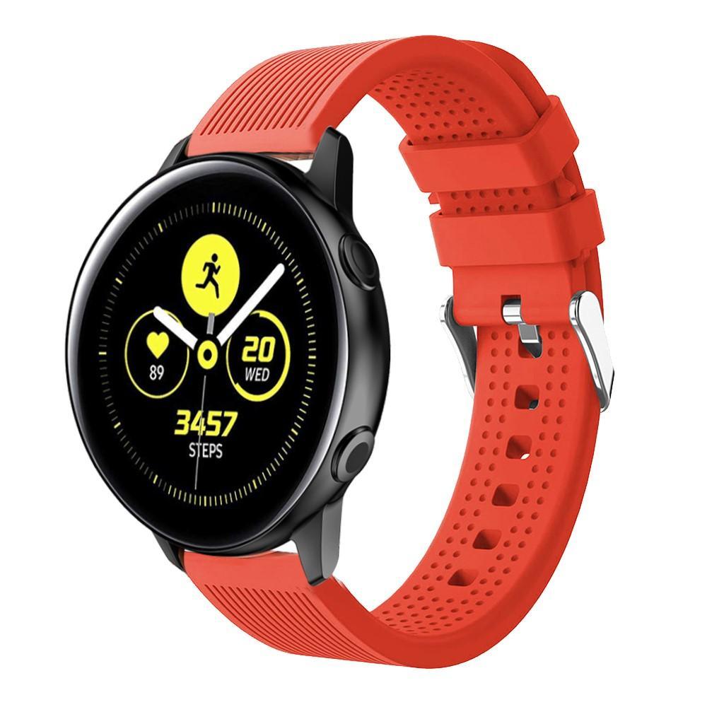 Silikoniranneke Samsung Galaxy Watch Active/42mm punainen