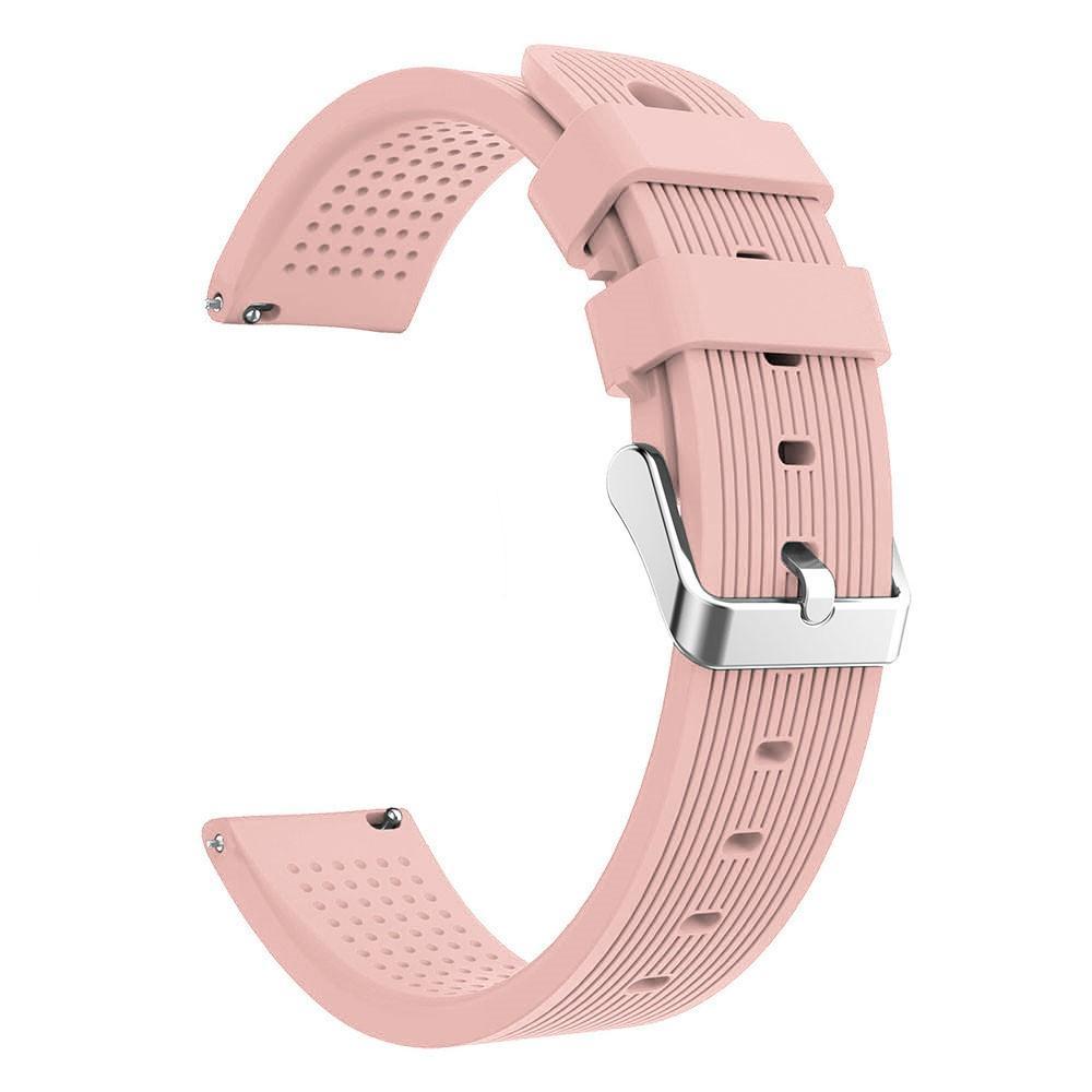 Silikoniranneke Samsung Galaxy Watch Active/42mm vaaleanpunainen