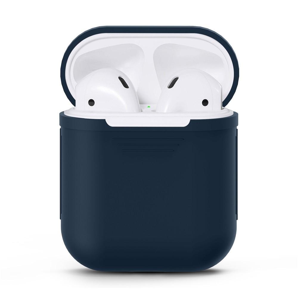 Silikonikotelo Apple AirPods sininen