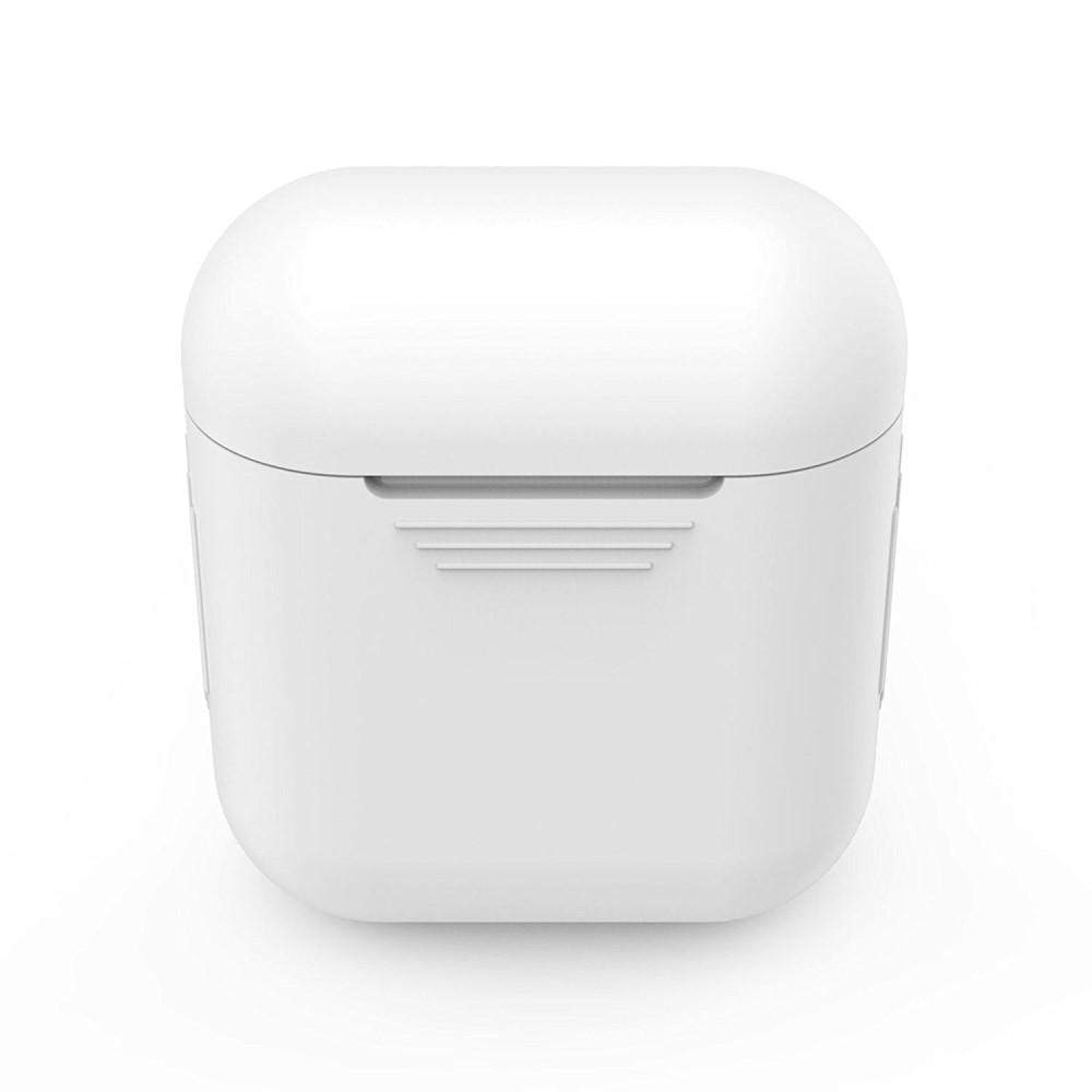 Silikonikotelo Apple AirPods valkoinen