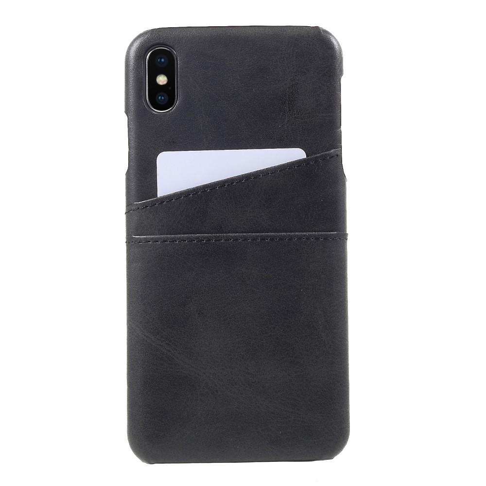 Card Slots Case Apple iPhone XS Max musta