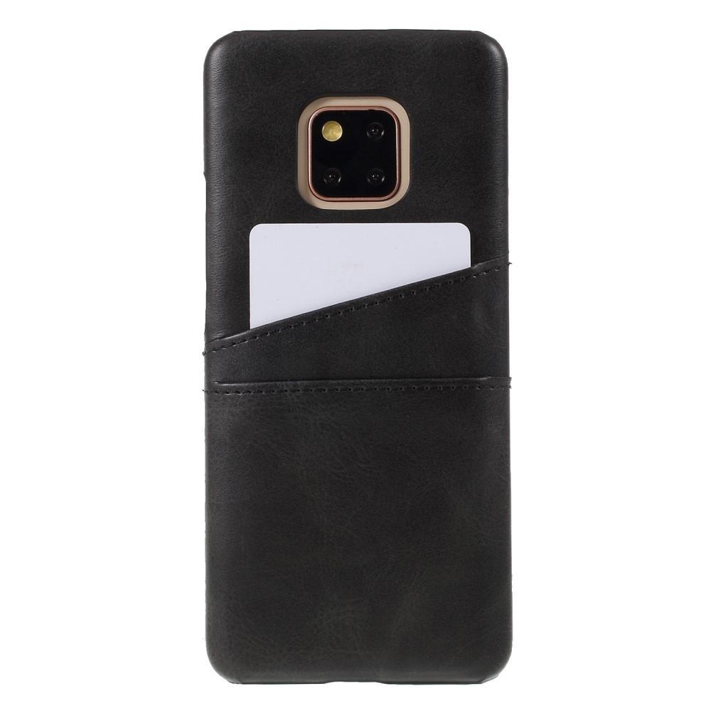 Card Slots Case Huawei Mate 20 Pro musta
