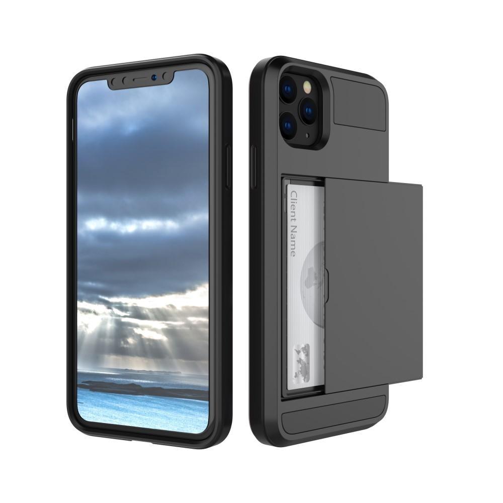 Case Cardslot Apple iPhone 11 musta