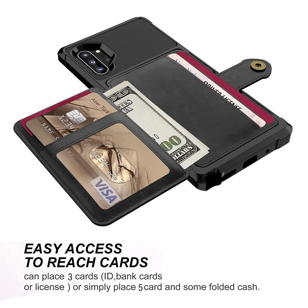 Tough Multi-slot Case Galaxy Note 10 Plus musta