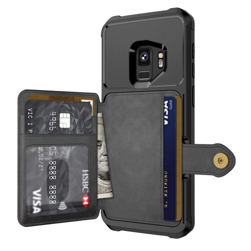 Tough Multi-slot Case Galaxy S9 musta