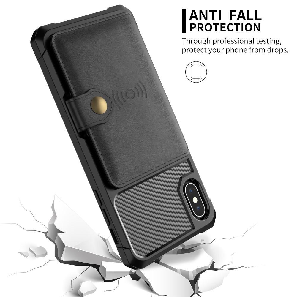 Tough Multi-slot Case iPhone XS Max musta