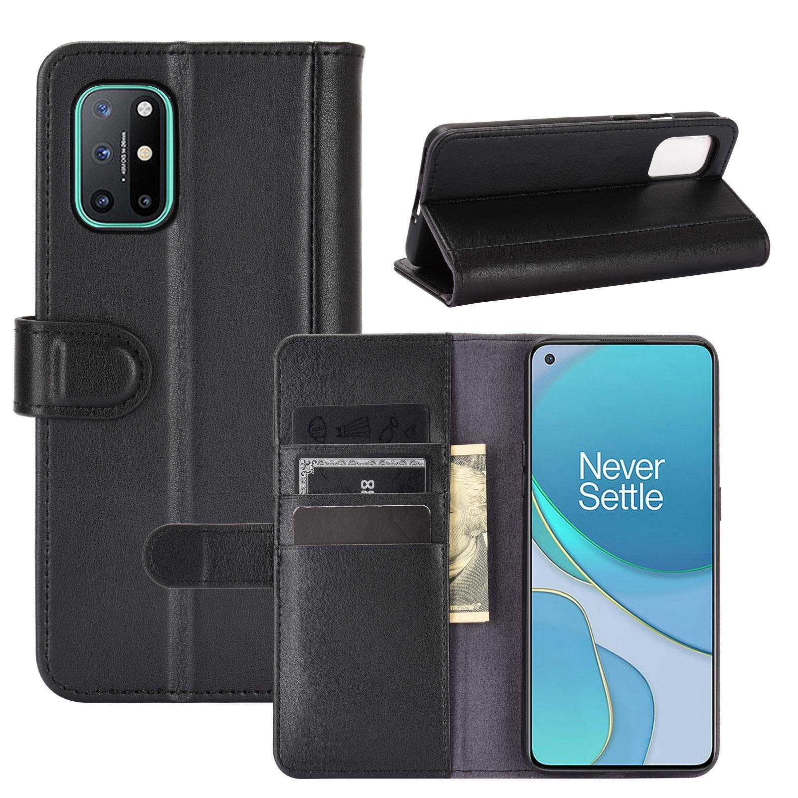 Aito Nahkakotelo OnePlus 8T musta