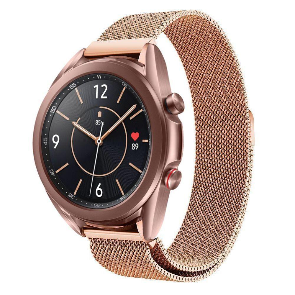 Ranneke Milanese Samsung Galaxy Watch 3 41mm ruusukulta
