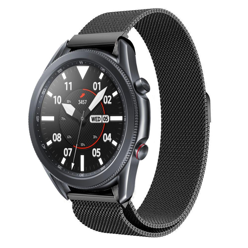 Ranneke Milanese Samsung Galaxy Watch 3 45mm musta