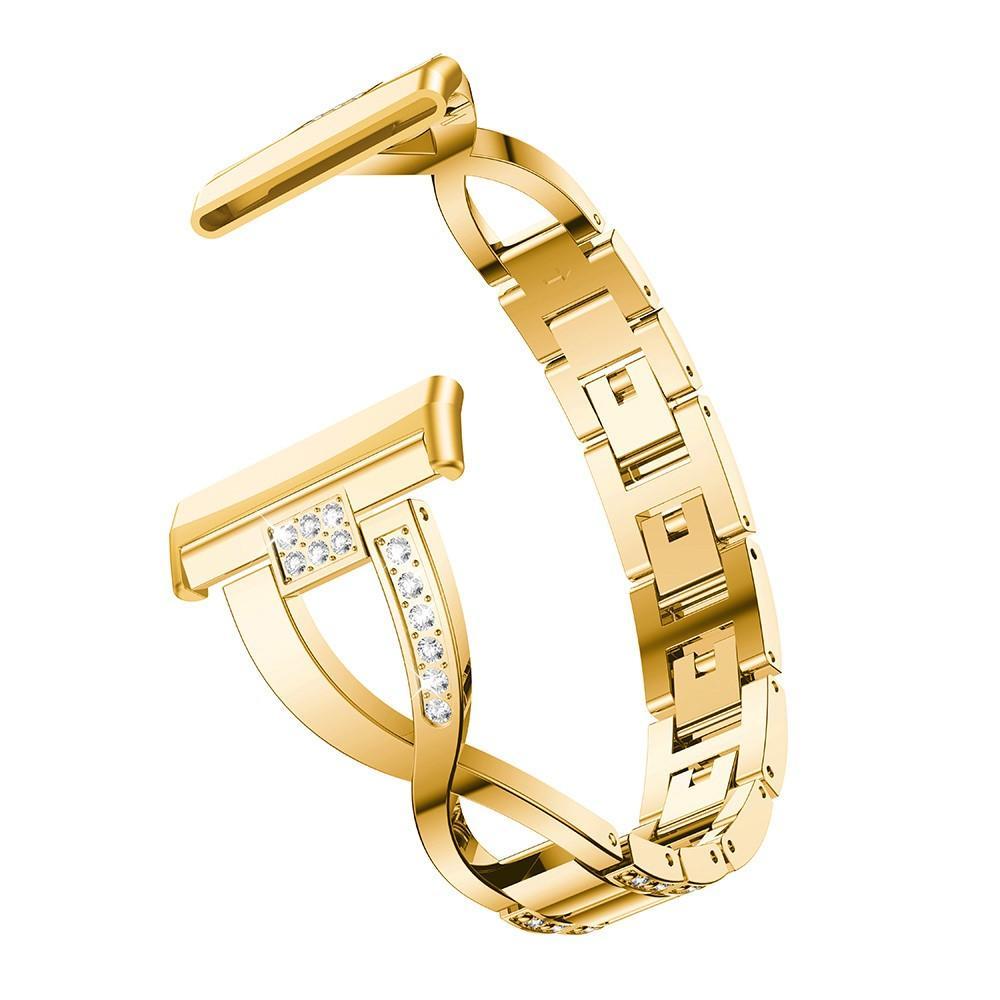 Crystal Bracelet Fitbit Versa 3/Fitbit Sense Gold
