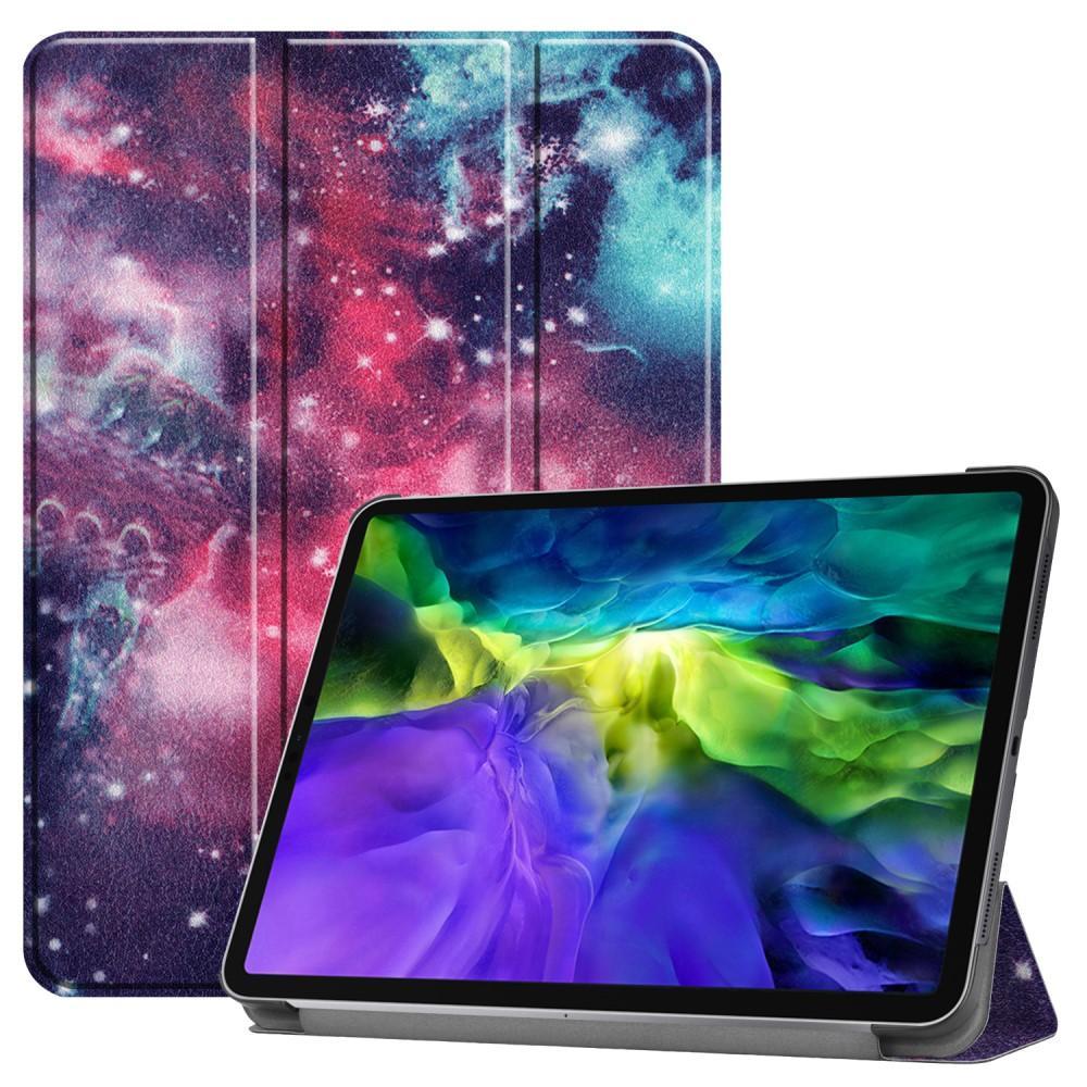 Kotelo Tri-fold Apple iPad Pro 11 2020 ulkoavaruus