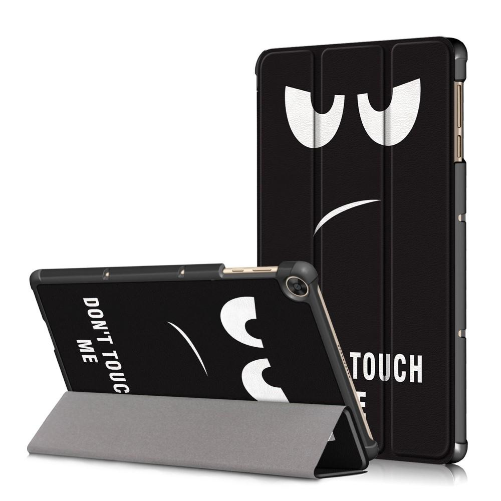 Kotelo Tri-fold Huawei Matepad T10/T10s Don't Touch Me