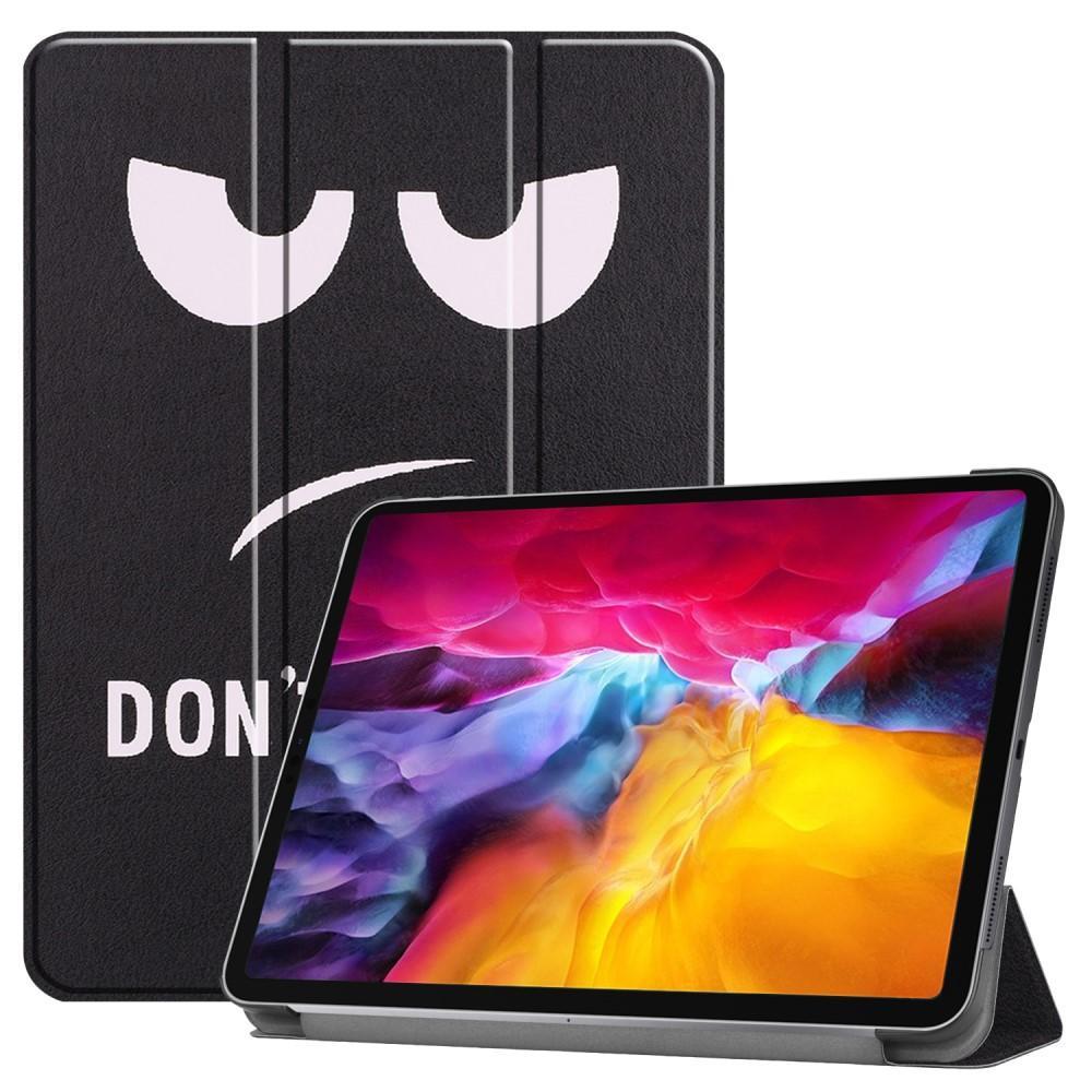 Kotelo Tri-fold iPad Pro 11 2021 Don't Touch Me