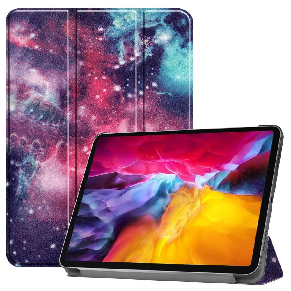 Kotelo Tri-fold iPad Pro 11 2021 ulkoavaruus
