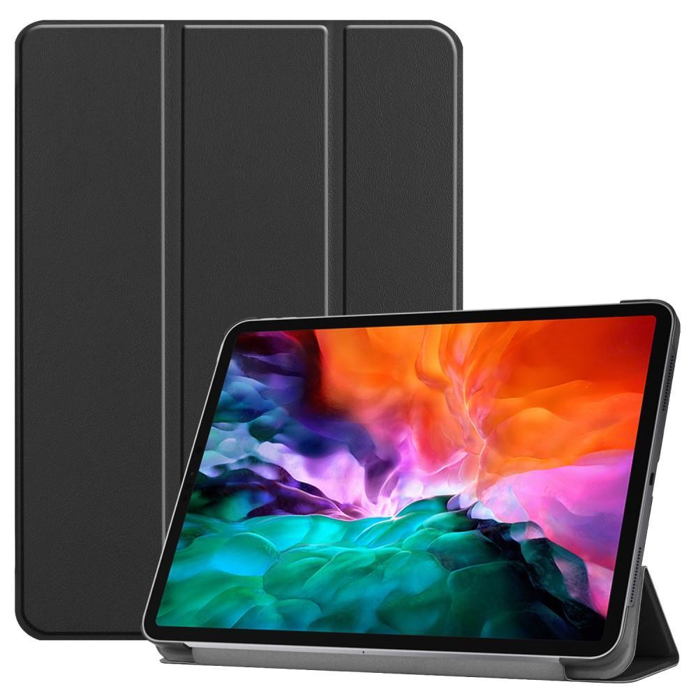 Kotelo Tri-fold iPad Pro 12.9 2021 musta