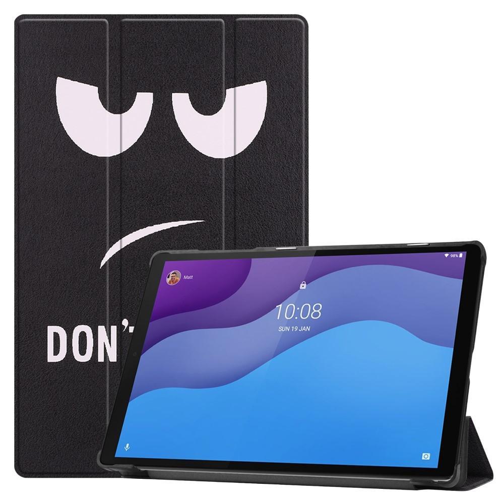 Kotelo Tri-fold Lenovo Tab M10 HD (2nd Gen) Don't Touch Me