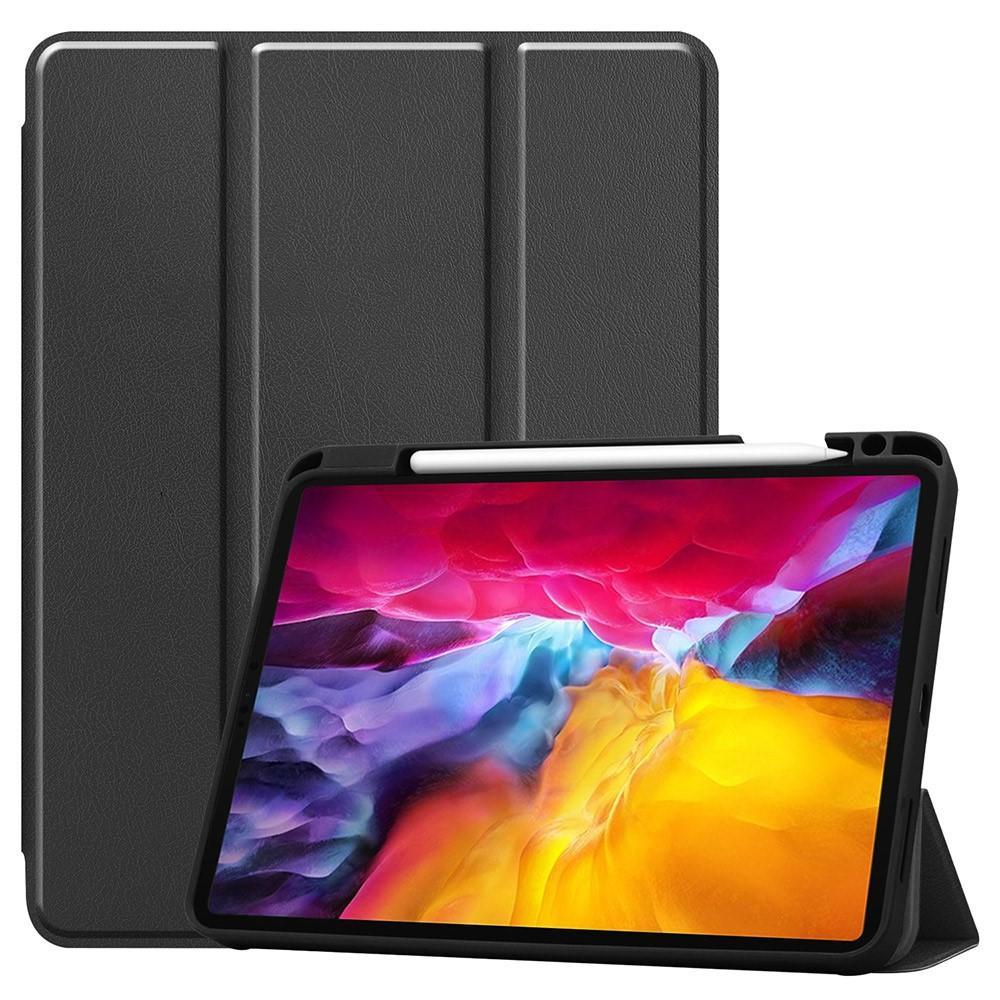 Kotelo Tri-fold Kynäpidikkeellä iPad Pro 11 2021 musta