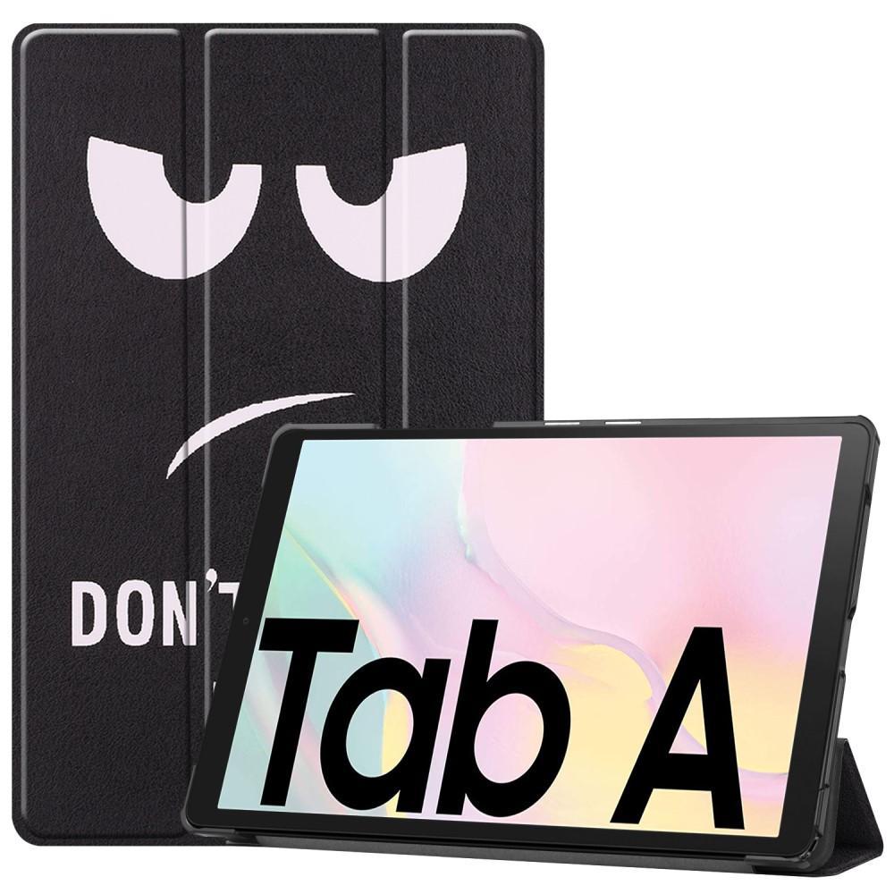 Kotelo Tri-fold Samsung Galaxy Tab A7 10.4 2020 Don't Touch Me