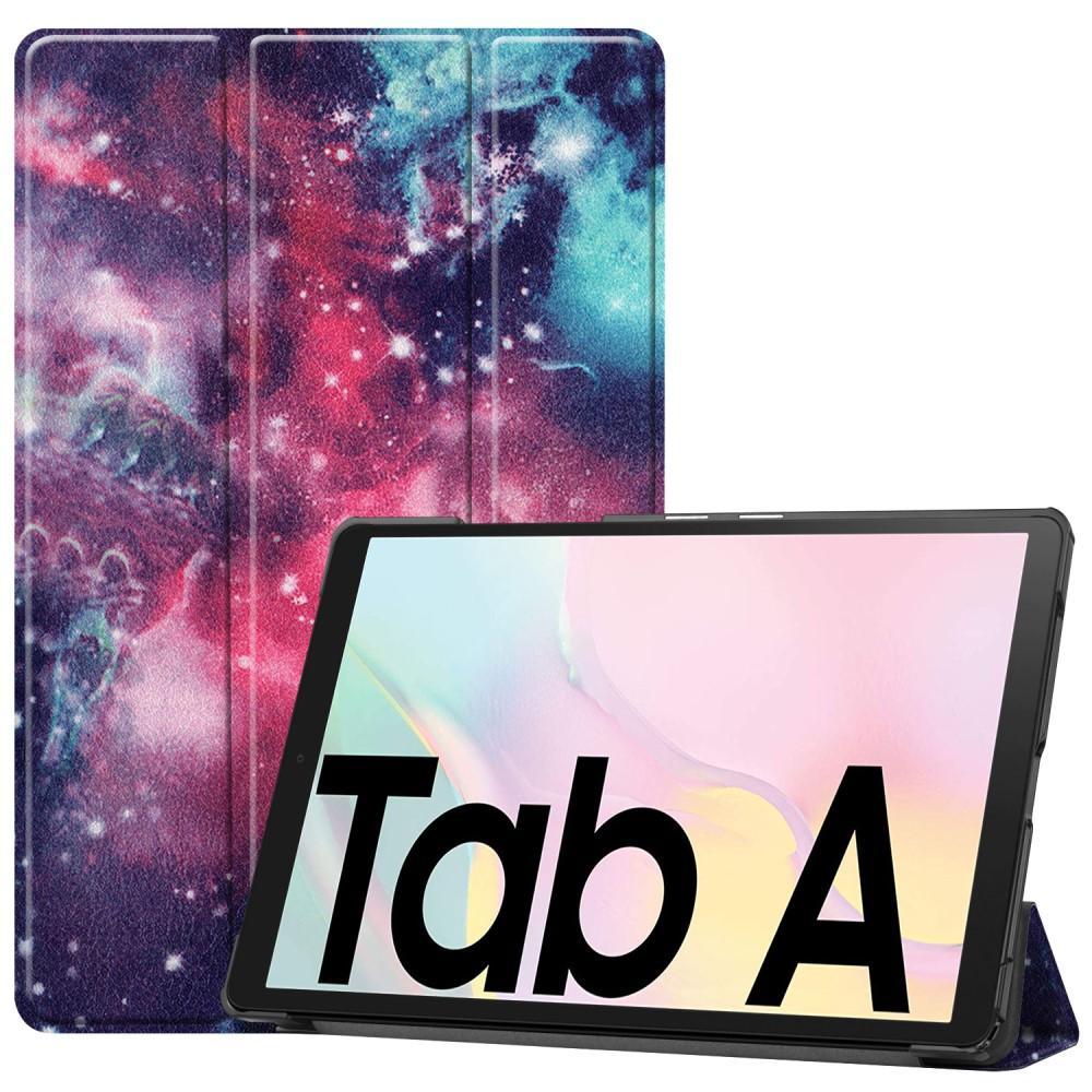 Kotelo Tri-fold Samsung Galaxy Tab A7 10.4 2020 ulkoavaruus
