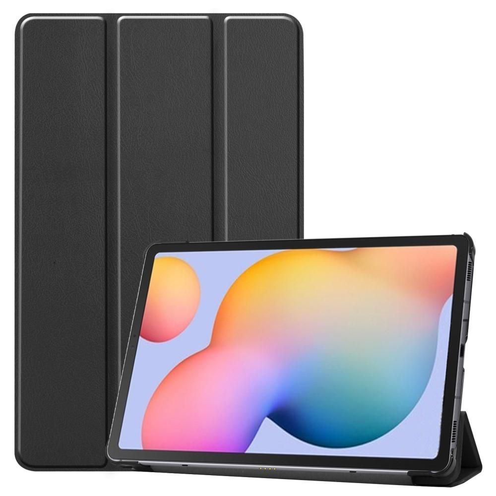 Kotelo Tri-fold Samsung Galaxy Tab S6 Lite 10.4 musta