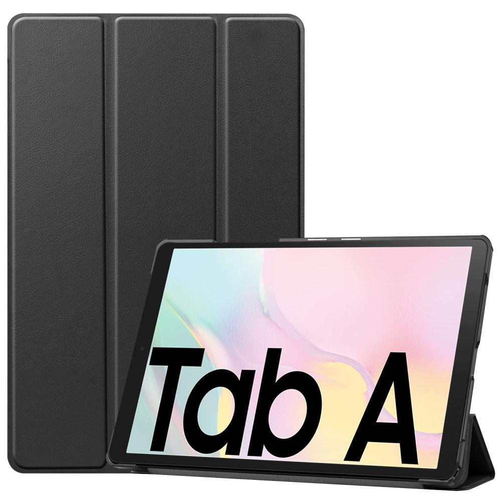 Kotelo Tri-fold Samsung Galaxy Tab A7 10.4 2020 musta