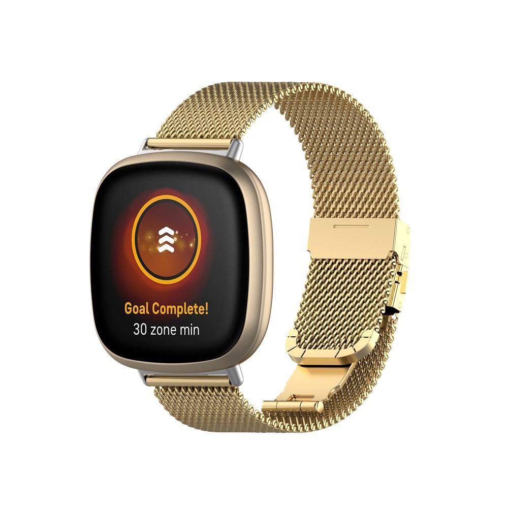 Mesh Bracelet Fitbit Versa 3/Sense Gold