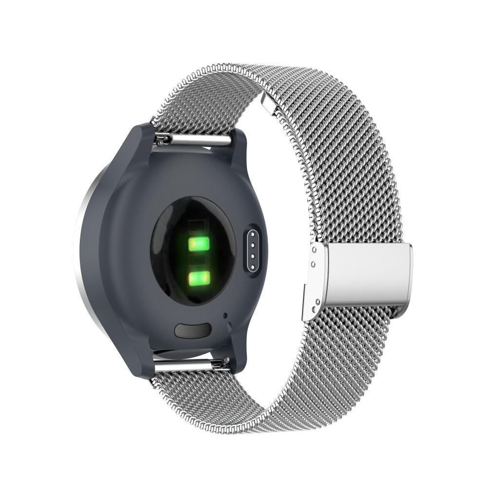 Mesh Bracelet Garmin Vivoactive 4s/Venu 2s Silver